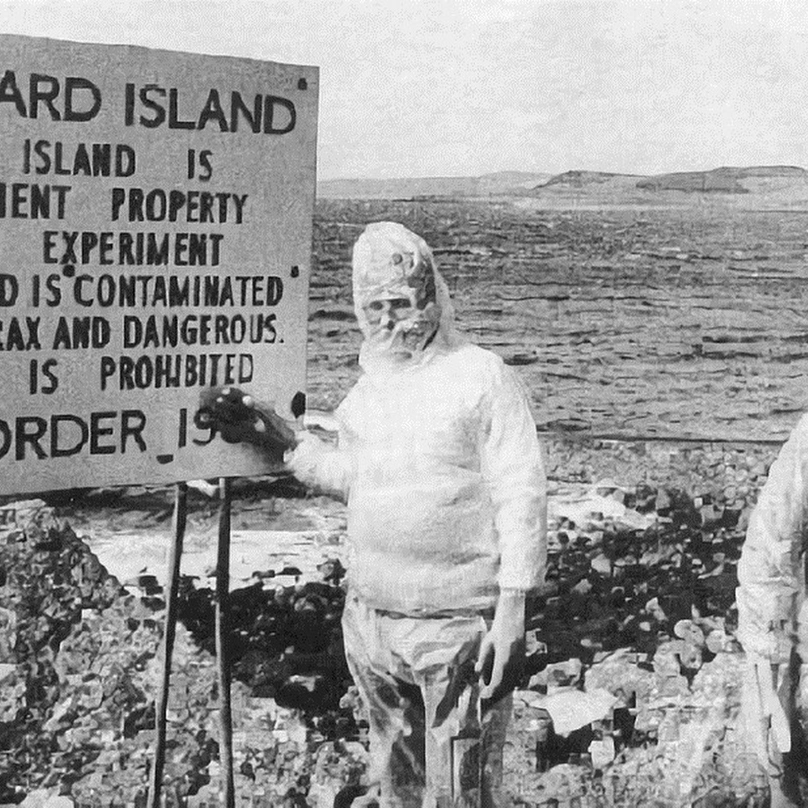 The Dark Legacy of Gruinard Island