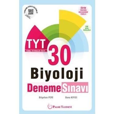 Palme Yayınları - TYT Biyoloji - 30'lu Deneme