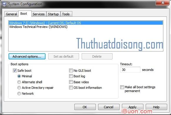 Ảnh mô phỏngHướng dẫn truy cập Safe Mode trên Windows Xp/7/8/8.1/10 - cach-vao-safe-mode-3