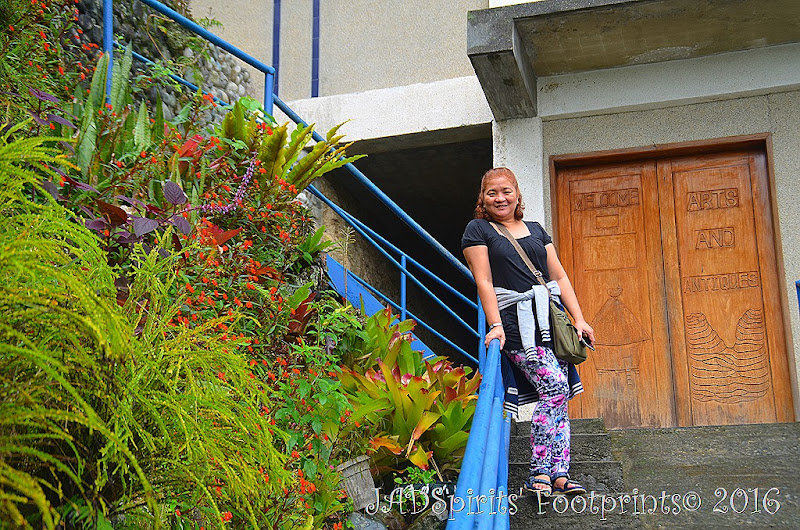 Taken right after we went out of the Banaue Museum
