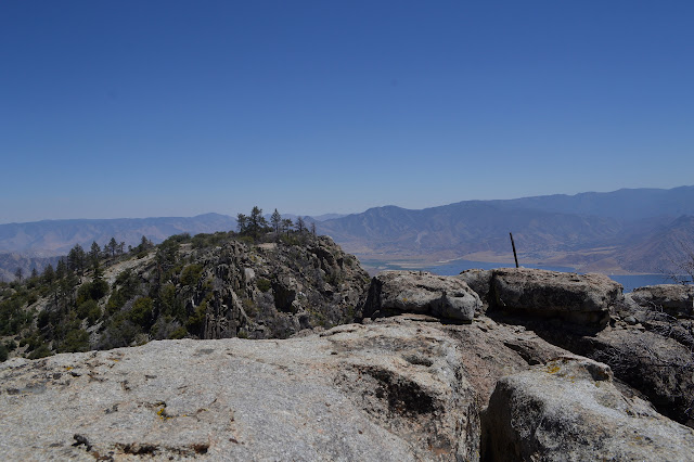 tops of Split Mountain