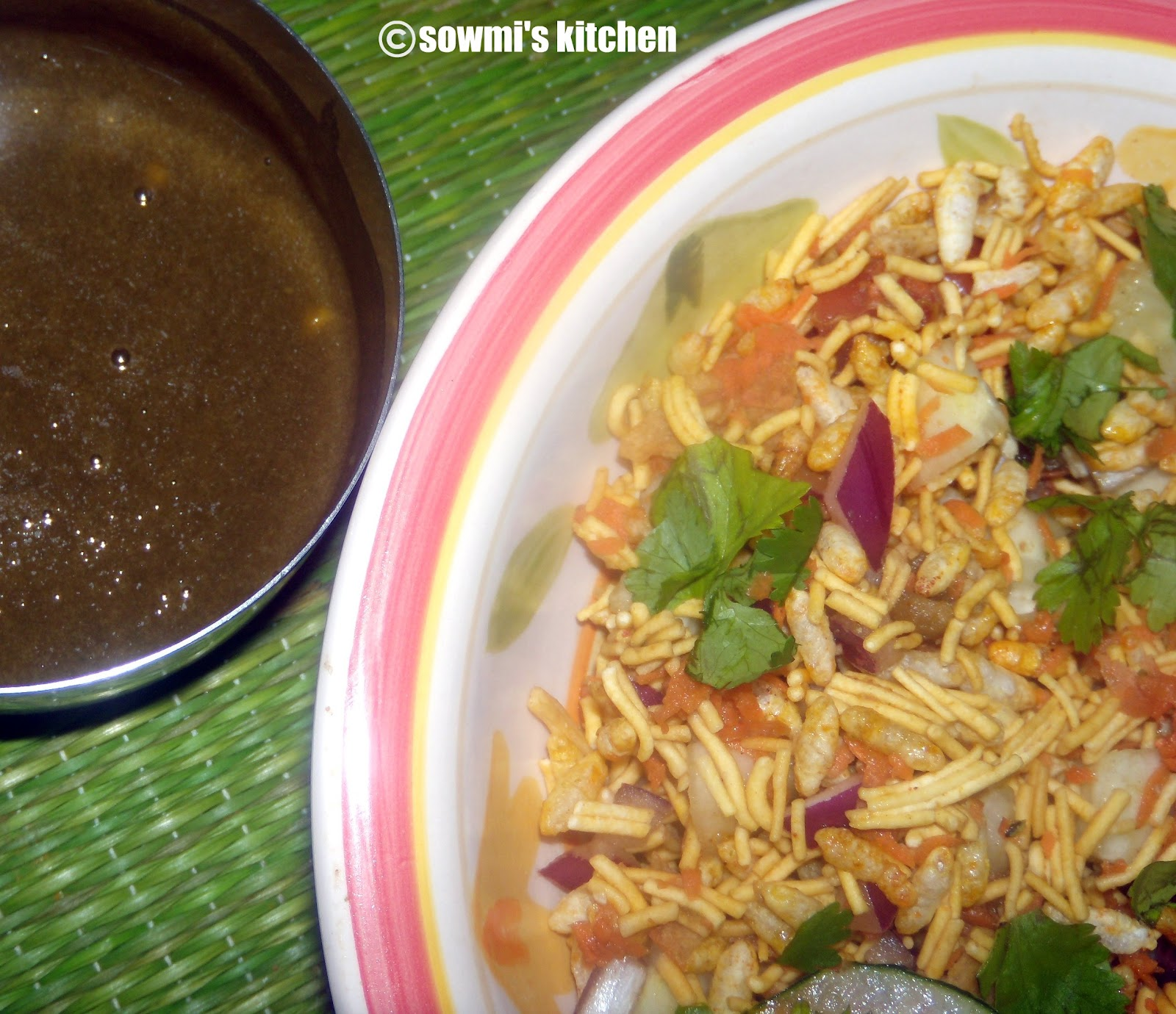 how to make bhel puri at home in telugu