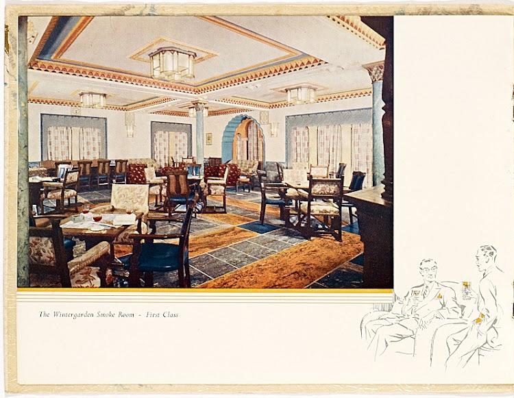 6- Salon fumadores de First Class. Colección Arturo Paniagua.jpg