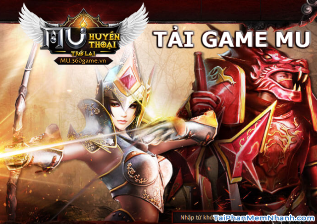 Tải Game MU Online Huyền Thoại