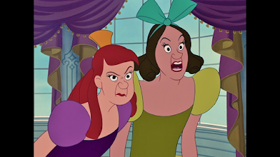 Anastasia and Drizella Tremaine from Cinderella III: A Twist in Time