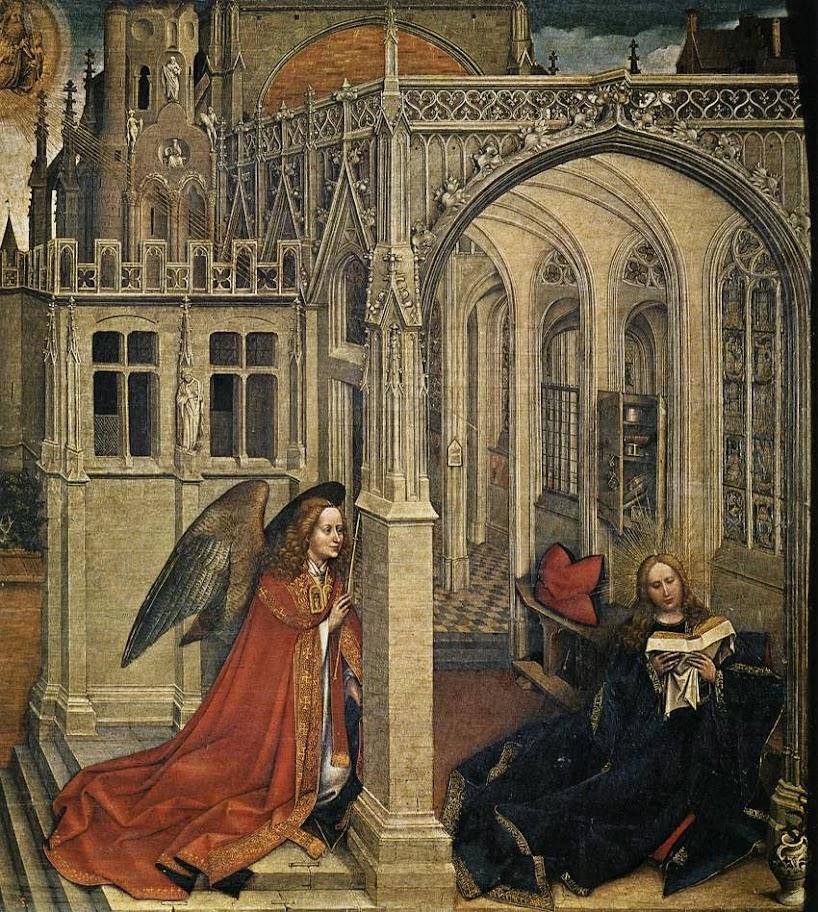 Robert Campin - Annunciation