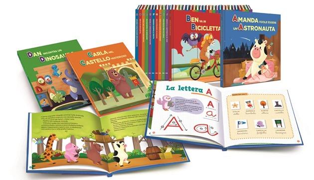 I volumi di Impara con le lettere e gli animali