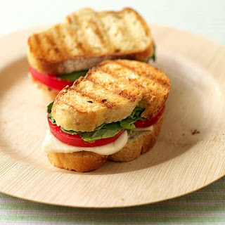 Fresh Mozzarella and Tomato Paninis