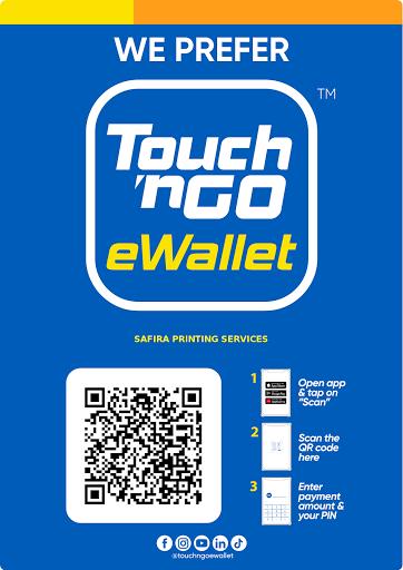 We accept E-Wallet payment
