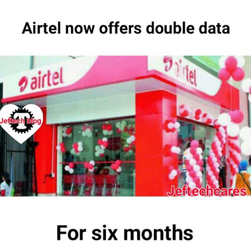 Airtel Rolls Out Double Data Plan For Six Months.
