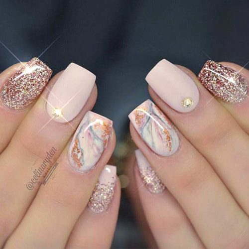 Latest Prom Nails Designs For This Summer 8