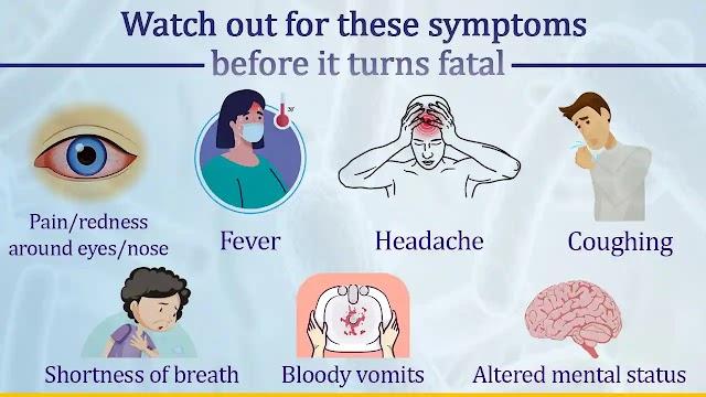 ब्लैक फंगस (काली फफूँदी )क्या होता हैं और इसके क्या लक्षण हैं :-