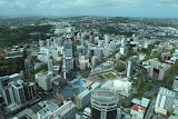 View from the Sky Tower onto Auckland (© 2010 Bernd Neeser)