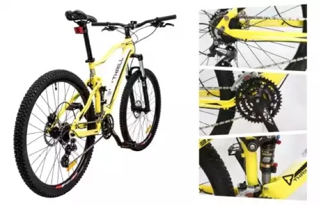 MTB (UNITED, WIMCYCLE,POLYGON, Adrenaline dan thrill series)