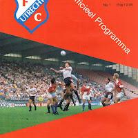 FCU Programmaboekjes 1989-90