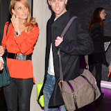 WWW.ENTSIMAGES.COM -     Gordana Whiddon and Trent Whiddon   arriving    at      The MediaSkin Gifting Lounge at Stamp 79 Oxford Street London November 6th 2014                                                 Photo Mobis Photos/OIC 0203 174 1069