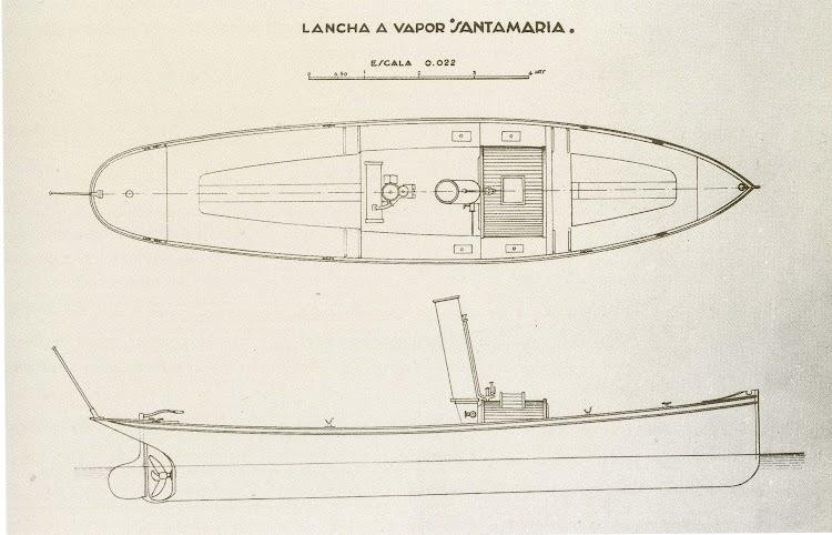 Planos de la SANTAMARIA. Foto del libro LOS BARCOS DE LA JUNTA DEL PUERTO DE SANTANDER.jpg