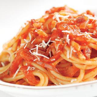 Mama Mia Trattoria's Pomodoro Sauce.