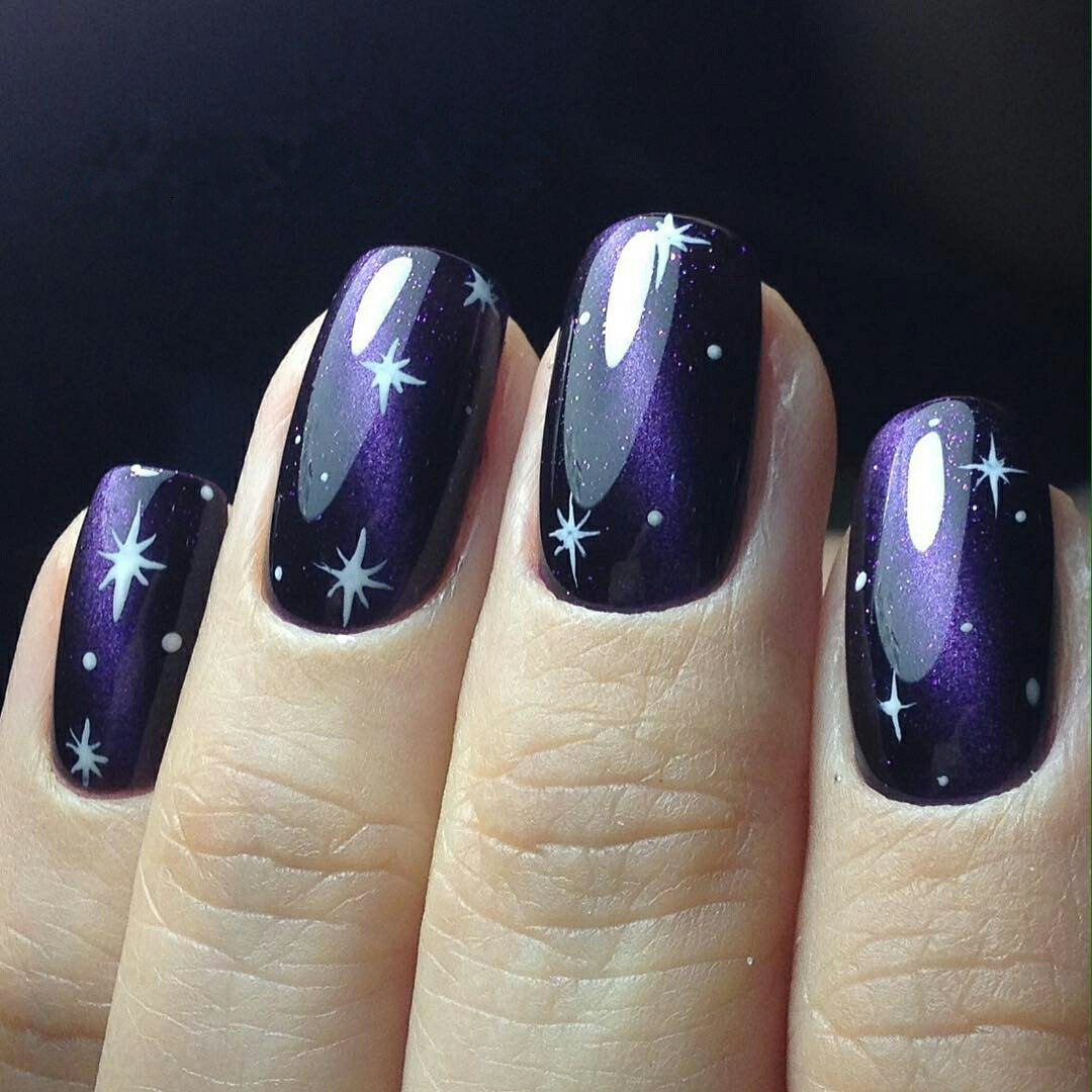 How To Do Easy Galaxy Nails Try It Now 1