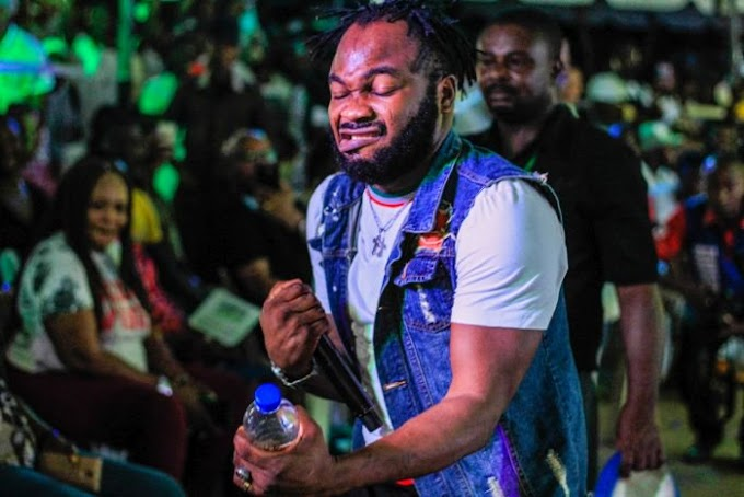 Slimcase Thrills Corp Members With Electrifying Performance At Lagos NYSC Camp (Video)