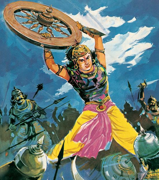 वीर अभिमन्यु कक्षा 4 हिंदी कलरव | Primary ka Master Guide for Class 4 Hindi Kalrav Chapter 7