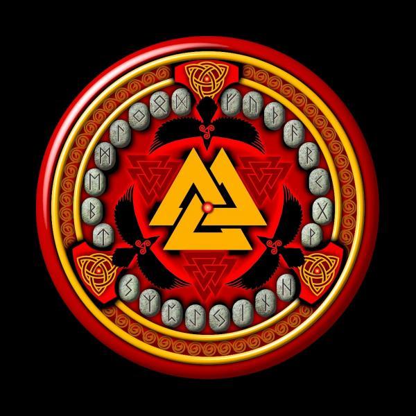 Rune Set, Celtic And Druids