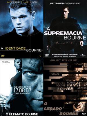 Download - Quadrilogia Bourne - DVD-R
