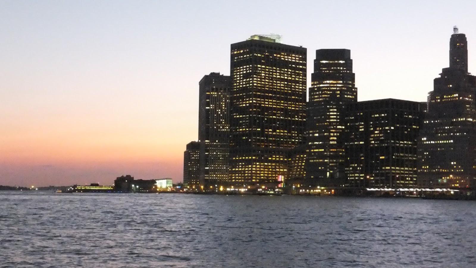 Manhattan at dusk, Brooklyn Heights, New York, Elisa N, Blog de Viajes, Lifestyle, Travel