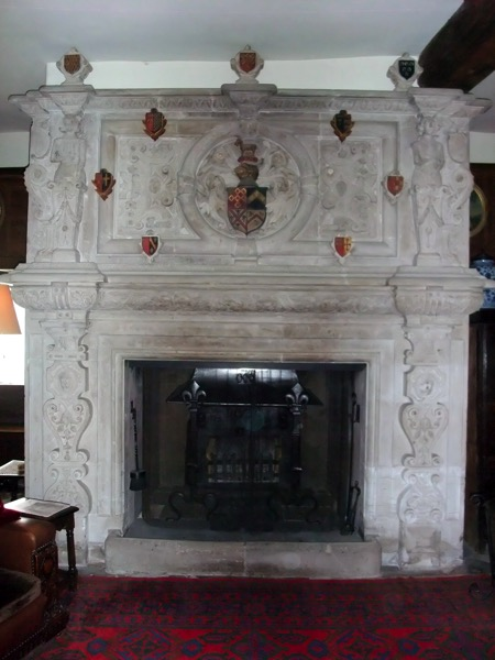 BC Great Hall Fireplace