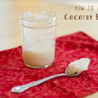 Coconut Butter Recipe