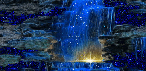 Magic Blue Fall Lwp Applications Sur Google Play