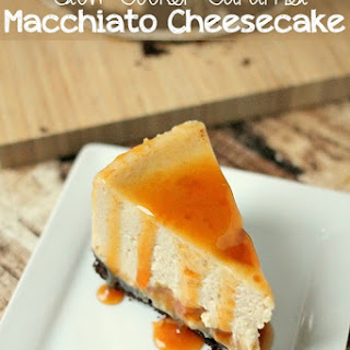 Slow Cooker Caramel Macchiato Cheesecake