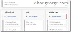 How to Add Featured Posts Widget in Blagger1