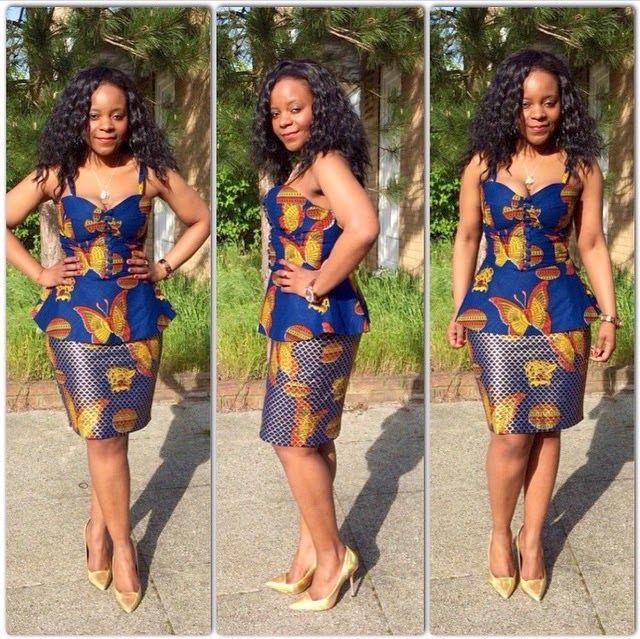 Kitenge Dresses Designs For Young Girls 8