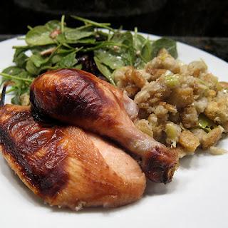 Chai-Brined Chicken.