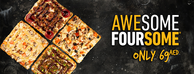 Awesome Foursome from Debonairs Pizza