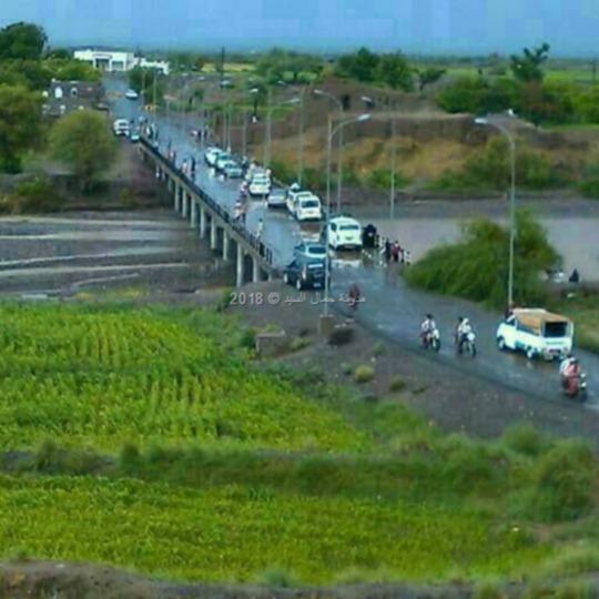 جسر الحسيني السيل