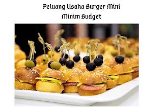 Peluang Usaha Burger Mini Yang Minim Budget