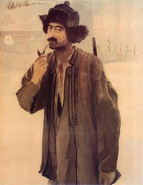 Teodor Axentowicz - Self-portrait