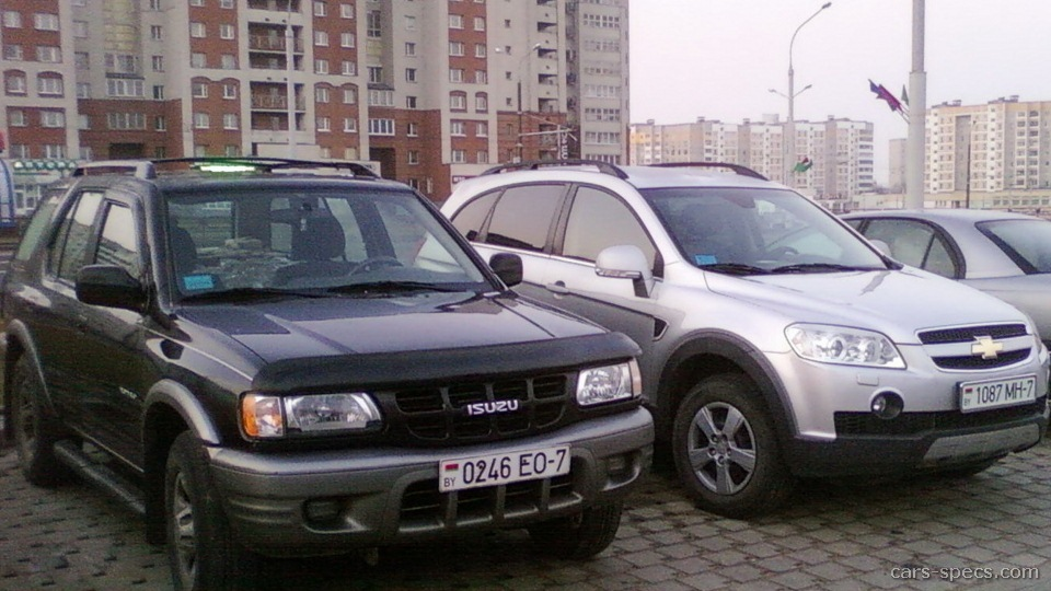 2001 isuzu rodeo suv specifications pictures prices rh cars specs com 2004 Isuzu Rodeo 2001 Isuzu Rodeo Parts