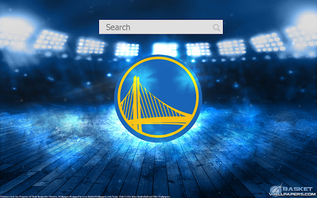 New tab wallpaper Golden State Warriors