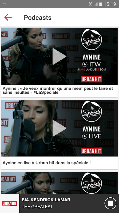 Urban Hit – Capture d'écran