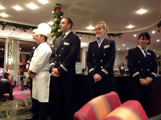 The great team onboard the AmaPrima river cruise from Nuremberg to Budapest