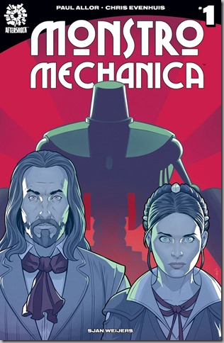 Aftershock Comics Monstro Mechanica Issue 001 Cover
