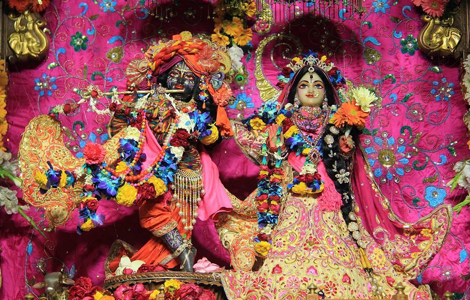 ISKCON Delhi Deity Darshan 08 Jan 2017 (1)