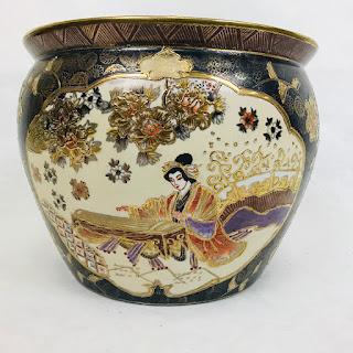 Vintage Chinese Porcelain Planter