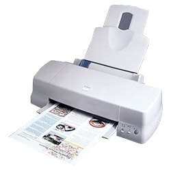 How to reset Epson Color 1160 printer