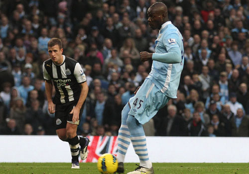 Mario Balotelli, Manchester City - Newcastle