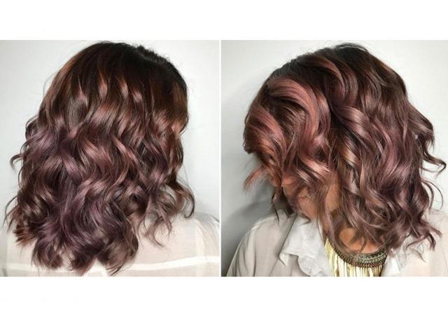 """cor Mauve nos cabelos para o verão! Créditos imagem """"Cosmopolitan"""""""
