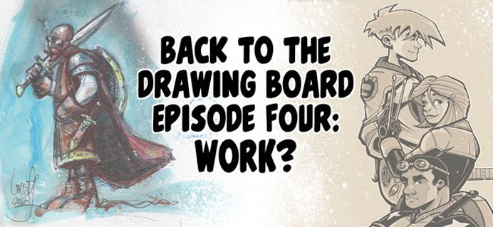 Back To The Drawing Board Podcast, with Jeff Lafferty and Sean Tiffany